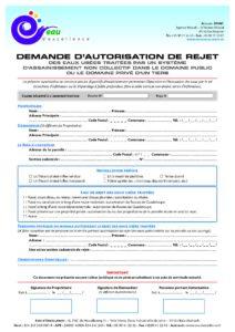 SPANC-Demande-Autorisation-Rejet